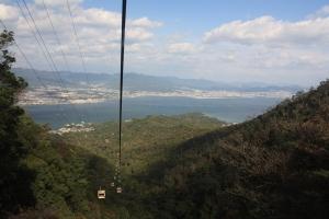 ropeway, mt. misen, miyajima island