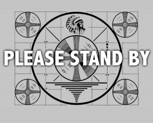 old tv test pattern