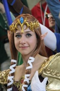 princess zelda cosplayer