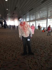 zombie cosplayer