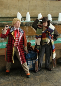 dr who cosplayers